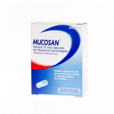 MUCOSAN RETARD 75 MG 30 CAPSULAS LIBERACION PROL