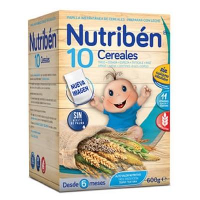 NUTRIBEN 10 CEREALES 1 ENVASE 600 G