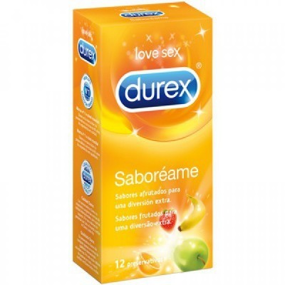 DUREX SABOREAME PRESERVATIVOS 12 U