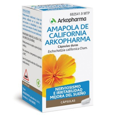 AMAPOLA DE CALIFORNIA ARKOPHARMA 240 MG 100 CAPS