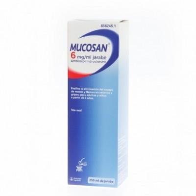 MUCOSAN 6 mg/ml JARABE 1 FRASCO 250 ml