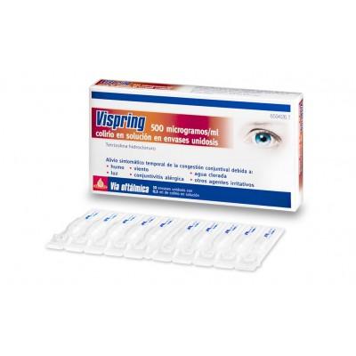 VISPRING 500 microgramos/ml COLIRIO EN SOLUCION 10 MONODOSIS 0,5 ml