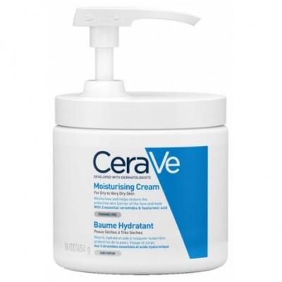 CERAVE CREMA HIDRATANTE CON POMPA 1 ENVASE 340 G