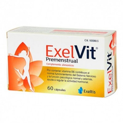 EXELVIT PREMENSTRUAL 60 CAPS