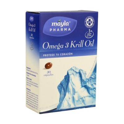 MAYLA OMEGA-3 KRILL OIL 30 CAPS
