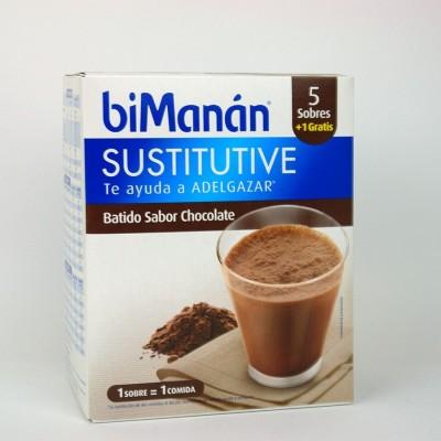 BIMANAN BATIDO CHOCOLATE 250 G 50 G X 6 U