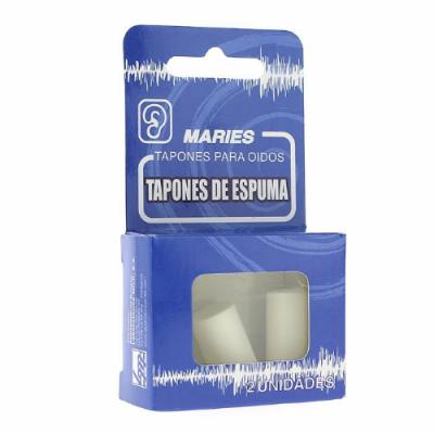 TAPONES OIDOS MARIES ESPUMA 2 U