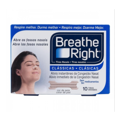 BREATHE RIGHT TIRA NASAL T- PEQ-MED 10 U