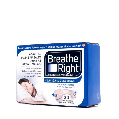 BREATHE RIGHT TIRA NASAL T- GDE 30 U