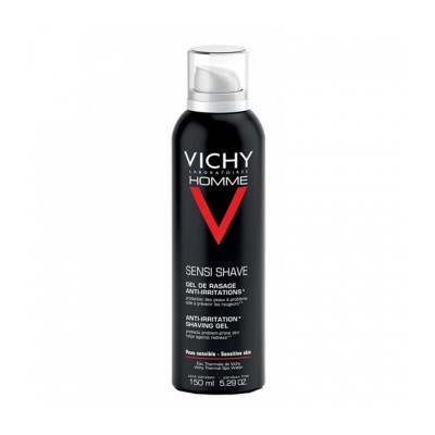 VICHY HOMME GEL AFEITADO P/ SENSIBLE 150 ML