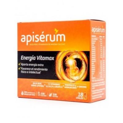 APISERUM ENERGIA VITAMAX 18 VIALES