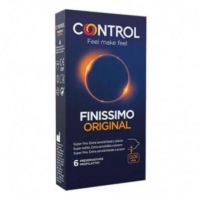 CONTROL FINISSIMO ORIGINAL PRESERVATIVOS 6 UNIDADES