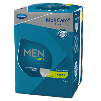 COMPRESAS MOLICARE MEN SLIPS M 7D