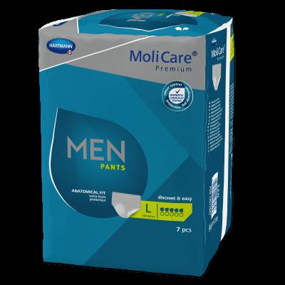 COMPRESAS MOLICARE MEN SLIPS M 5D