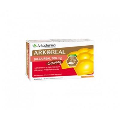 ARKOREAL JALEA REAL + GINSENG 15 ML 20 AMP
