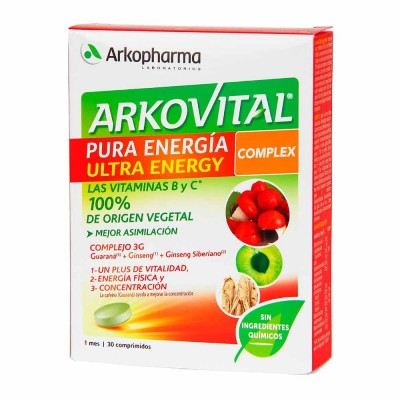 ARKOVITAL PURA ENERGIA ULTRA ENERGY COMPLEX 30 C