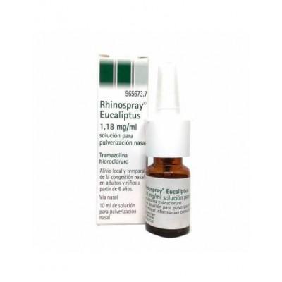 RHINOSPRAY EUCALIPTUS 1,18 mg/ml SOLUCION PARA PULVERIZACION NASAL 1 FRASCO 10 ml