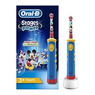 CEPILLO DENTAL ELECTRICO RECARGABLE ORAL-B VITALITY STAGES MICKEY