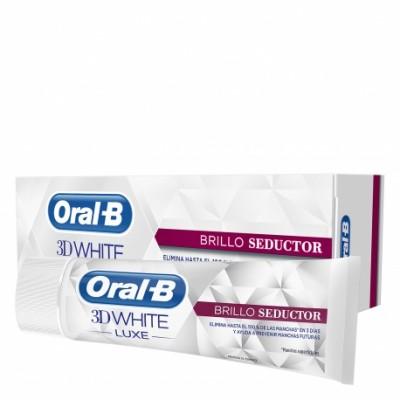 ORAL-B 3DWHITE LUXE BRILLO SEDUCTOR PASTA DENTAL 75 ML