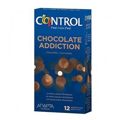CONTROL SEX SENSES PRESERVATIVOS CHOCOLATE ADDIC
